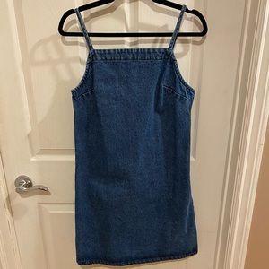 Frank & Oak Mini Denim Dress